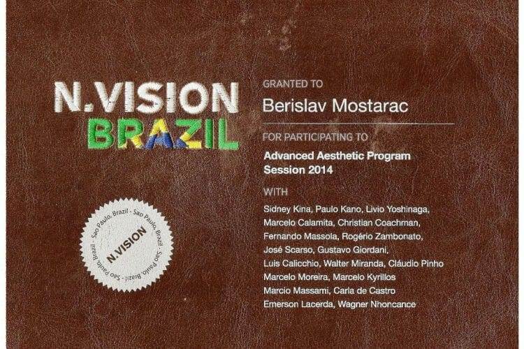 MAsterclass estetska stomatologija Brazil